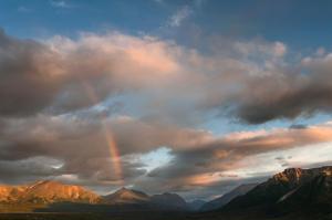 Rainbow in Denali National Park. Photo courtesy of Denali National Park.