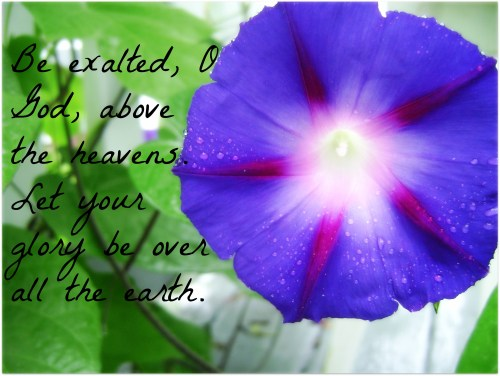be exalted
