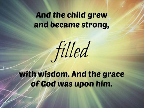 Luke 2, 40