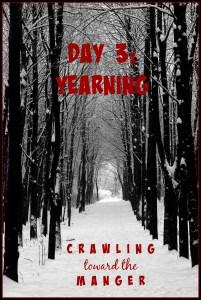 crawling toward the manger daily