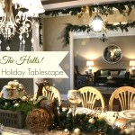 Deck the Halls! Holiday Tablescape