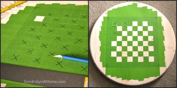 How to Make a Checkerboard-3- Sondra Lyn at Home