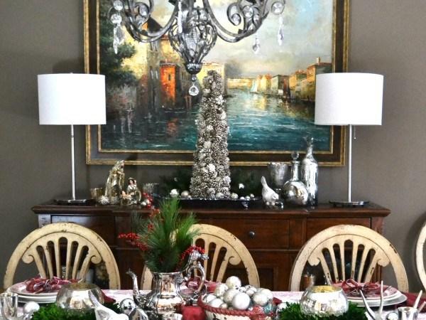 Holiday Buffet 2015 - Dining Room - Sondra Lyn at Home.com