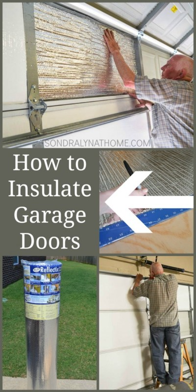 How To Insulate Garage Doors And Why You Should
