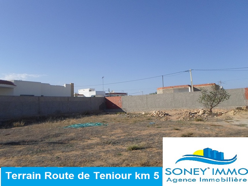 Lot de terrain route de teniour km 5 zone luxueuse