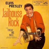 Jailhouse Rock - Elvis Presley Single