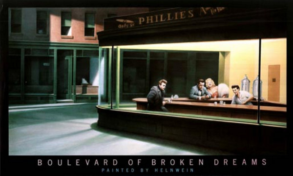 Helnwein - Boulevard of the Broken Dreams