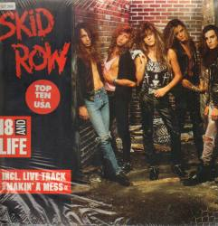 18 and Life - Skid Row single cover