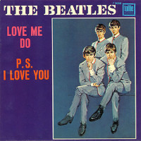 Love Me Do - The Beatles single cover