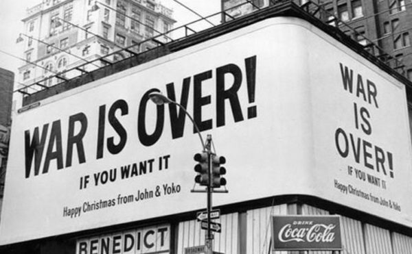 War Is Over - Lennon