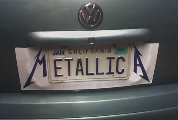 metallica автономера