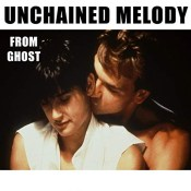 "Unchained Melody - песня из фильма ""Привидение"""