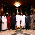 President Buhari Receives UNFPA ED Babatunde Osotimehim seegist.com