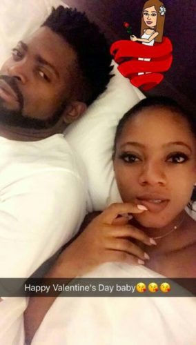 comedian-basketmouth-wife-elsie-share-romantic-bedroom-photos
