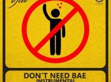 INSTRUMENTAL: Ycee - Dont Need Bae (Prod. By Endeetones)