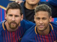 MP3 : Neymar responds to Messi's farewell message