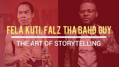 VIDEO: Fela Kuti & Falz The Bahd Guy - The Art Of Storytelling