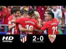 VIDEO : Atletico Madrid vs Sevilla 2-0 All Goals & Highlights (23/09/2017)
