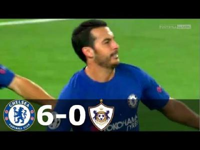 VIDEO: Chelsea vs Qarabag 6-0 - Highlights & Goals UEFA ChampionsLeague 12 September 2017