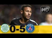 VIDEO: Celtic vs PSG 0-5 - Highlights & Goals UEFA Champions League 12 September 2017