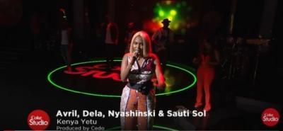 AUDIO | VIDEO: Avril, Deela, Nyashinski X Sauti Sol - Kenya Yetu