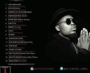 MP3 : Olamide - Be Mine