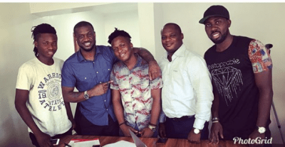 MR. P Signs New Act SINGAH To His P Classic Record Label