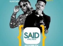 Instrumental: Nasty C Ft Runtown - Said [Afro Refix] (Prod By Sharplex)