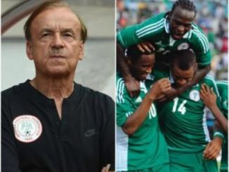 We will beat Iceland and Argentina to qualify - Gernot Rohr