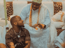 Davido Visits Ooni Of Ife