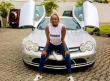 Billionaire's Daughter - DJ Cuppy Caught Posting With Borrowed Benz Car