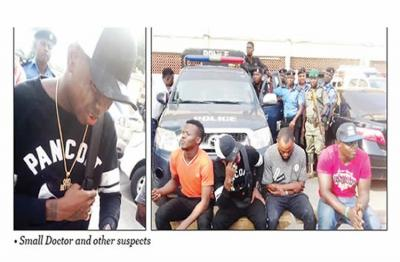 The Look On Small Doctor's Face After Arrest & Humiliation By Police (Photos)