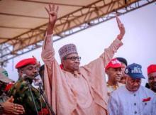 INEC Declares President Buhari Winner of 2019 Presidential Election