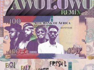 MP3: BOJ - Awolowo (Remix) ft Falz, Ycee X Fresh L