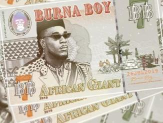 Burna Boy Released African Giant Album