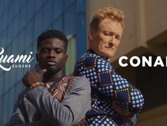 VIDEO: Kuami Eugene - For Love Ft. Conan O'Brien