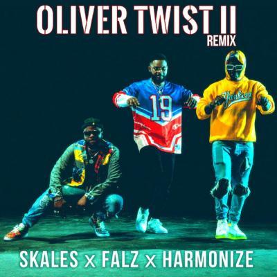 MP3: Skales - Oliver Twist (Remix) Ft. Falz x Harmonize