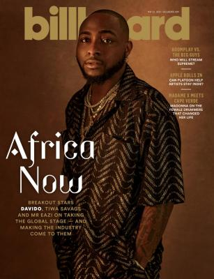Davido, Tiwa Savage & Mr. Eazi Cover Latest Billboard Edition