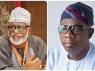I Paid My Deputy N13m Monthly, But He Betrayed Me – Governor Akeredolu