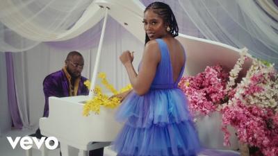 VIDEO: Tiwa Savage ft. Davido - Park Well