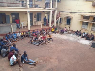 Police Arrest 40 Criminal Suspects In Enugu