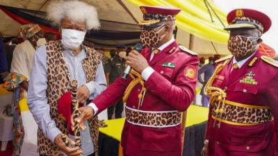 Wole Soyinka To Amotekun Operatives: Ogun Will Strike If You Abuse Your Uniform