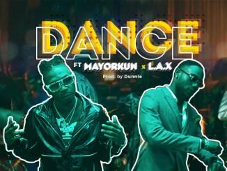 Mayorkun ft L.A.X - Dance header image