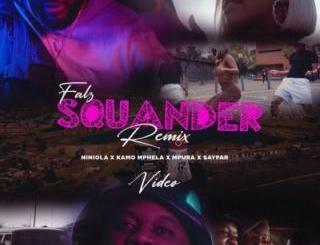 Video: Falz, Kamo Mphela, Mpura - Squander (Remix) ft. Sayfar
