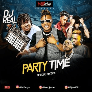 Download Mixtape: DJ Real - Party Time (Special Mix)