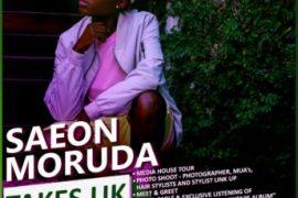 SAEON MORUDA TAKES U.K.