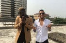 B.T.S Photos Of Skales New Video Ft Tekno