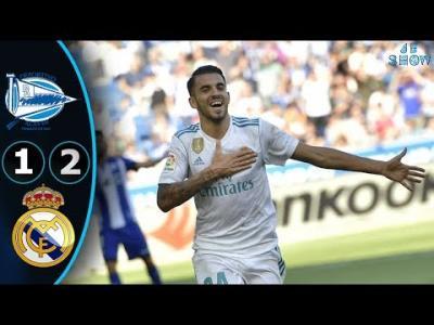 VIDEO : Alaves vs Real Madrid 1-2 - Goals & Highlights 23/09/2017 HD