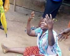 Elderly Woman Narrowly Escapes Death In ImoState After Huge Tree Falls On Her Mud House (Pics)
