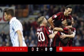VIDEO : AC Milan vs Spal 2-0 | Highlights & All Goals | Serie A 20-9-2017